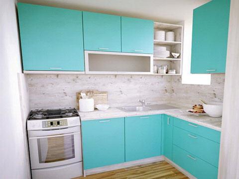 3д проект на кухня