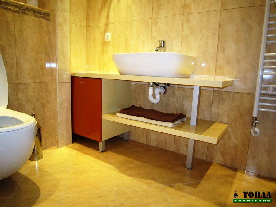 Шкаф за баня от МДФ