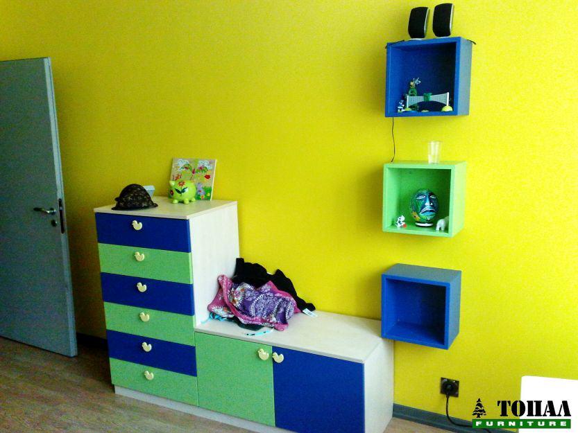 Детски скрин и секция
