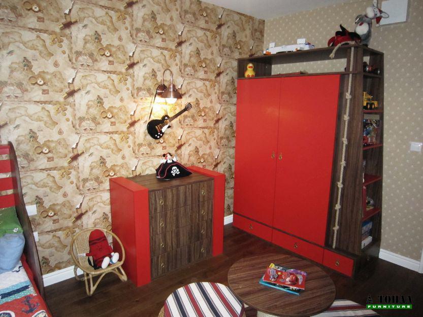 Детска стая с пиратски дизайн