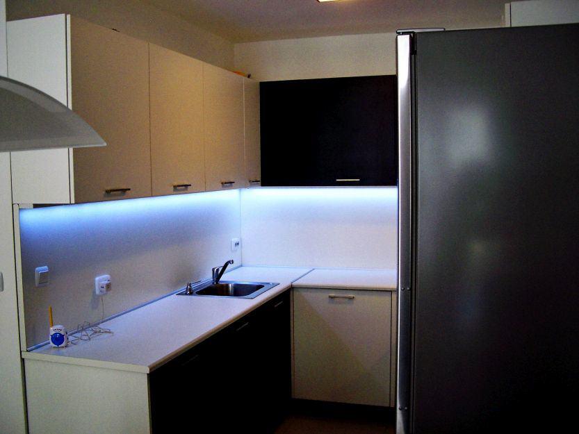 Лед осветление в кухня