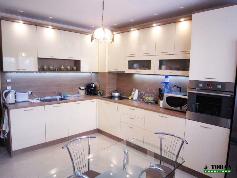 Кухня Фино бронз F583 с козирка и луни