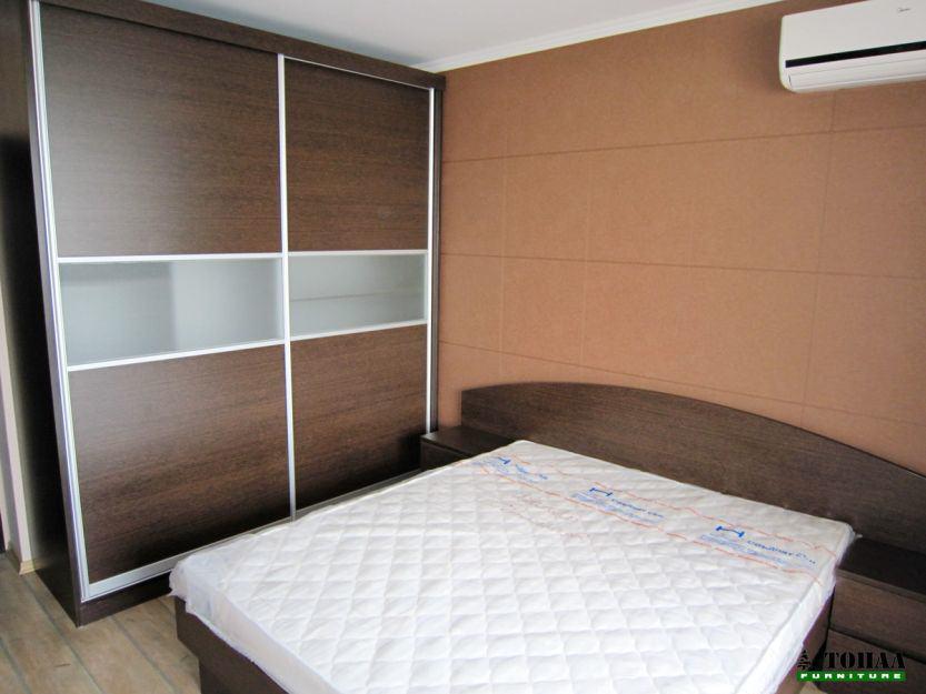Елегантна спалня в Орех Аида табак