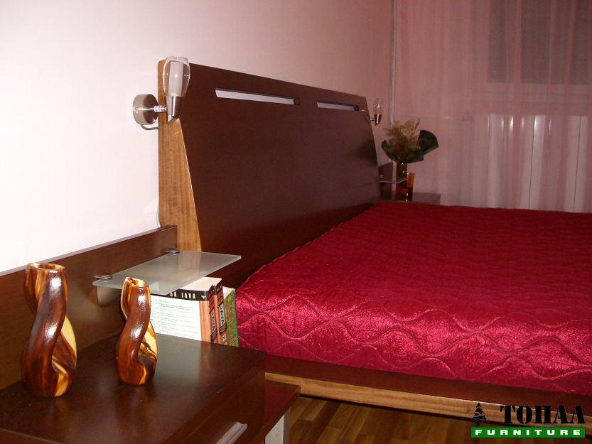 Спалня мдф бук фернир