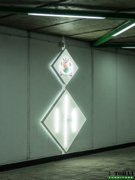 Светещи табла в интериора