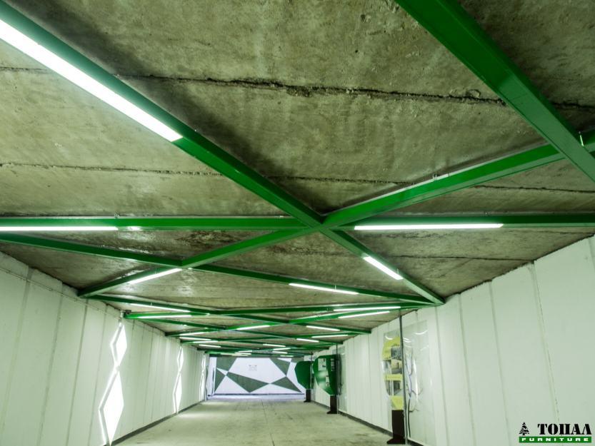 Дизайн на таван в подлез