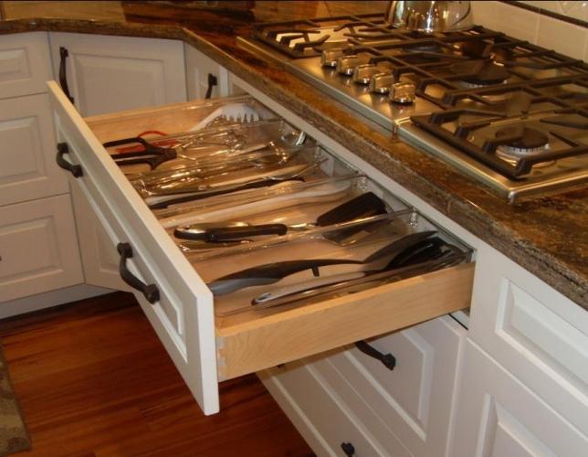 Идеи за функционално разпределение в кухнята