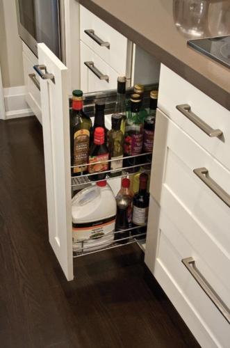 Идеи за функционално разпределение в кухнята (9)